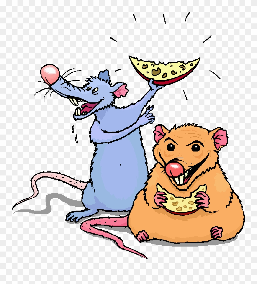 2 Rat Cartoon Clipart Brown Rat Clip Art.