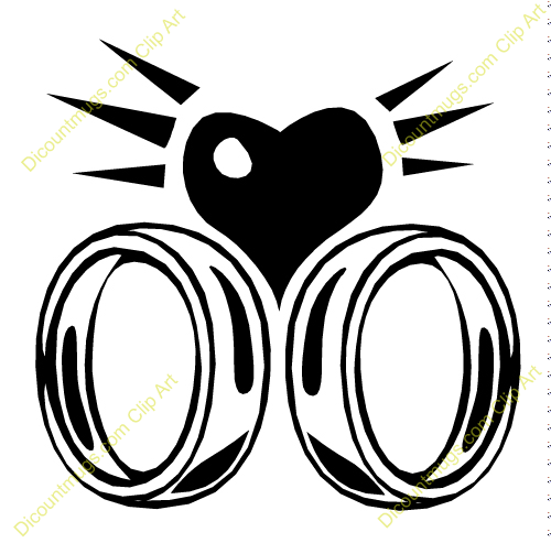 2541 Rings free clipart.