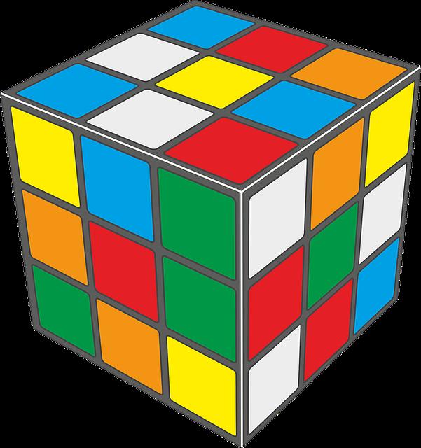 Rubiks Cube Puzzle Pixabay.