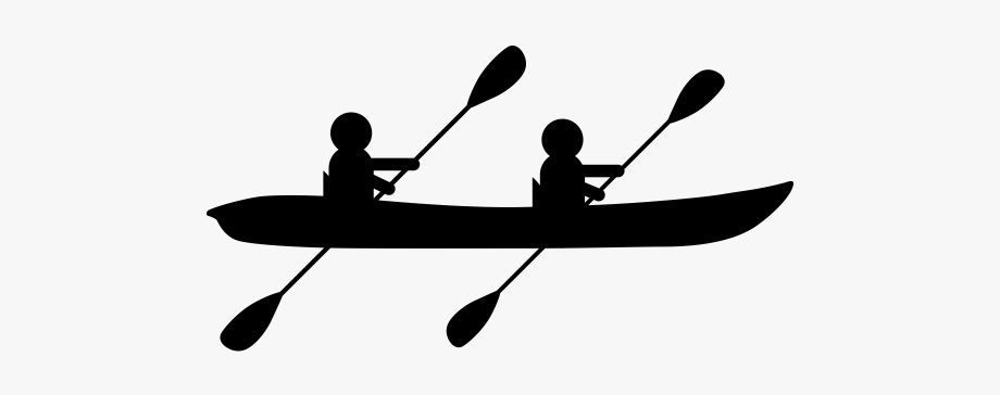 Kayak clipart double kayak, Kayak double kayak Transparent.