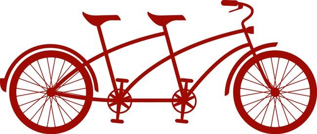 Tandem Bicycle Silhouette at GetDrawings.com.