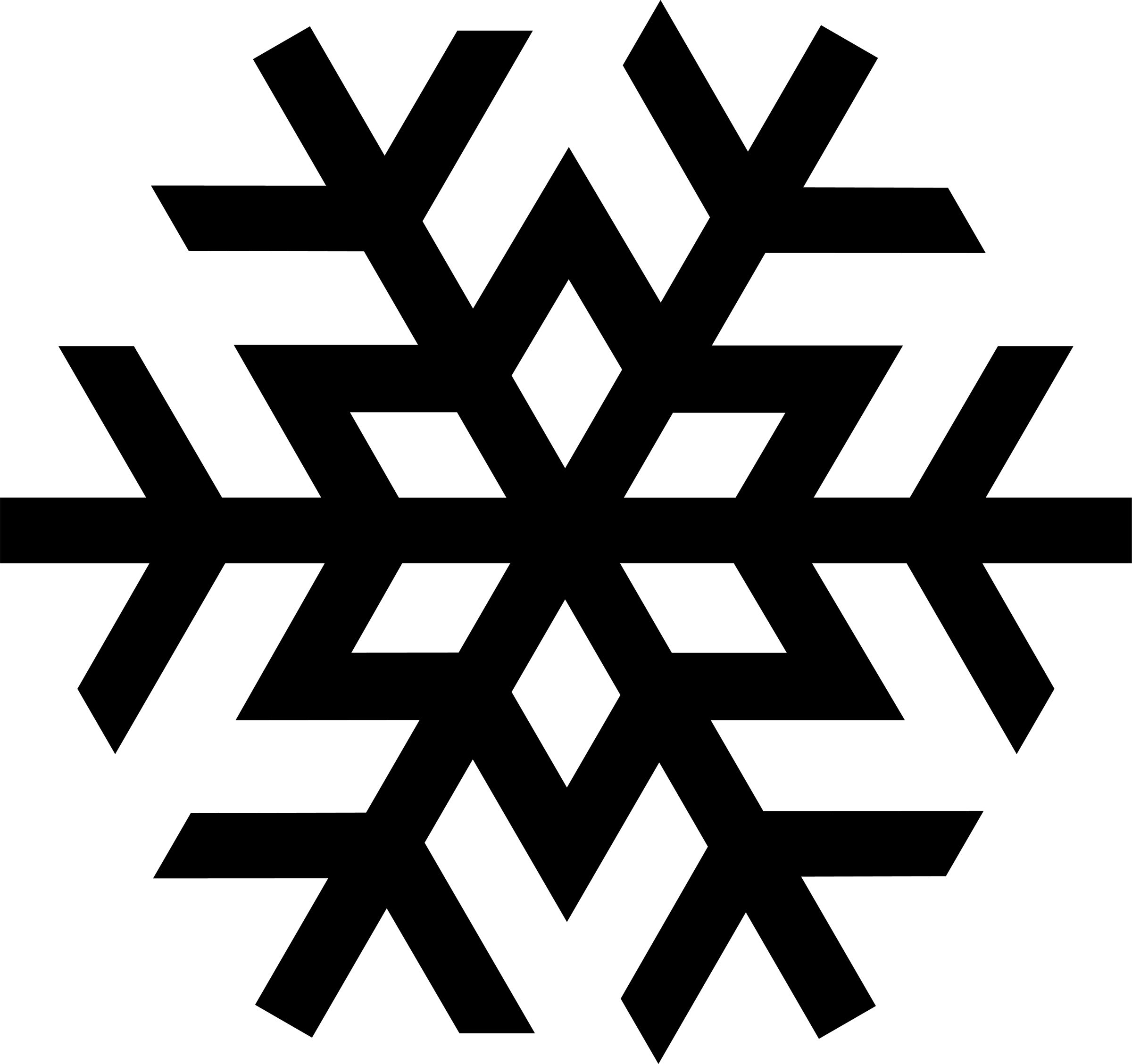Free clip art snowflake.