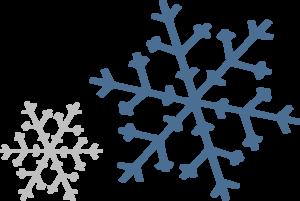 Snowflakes clip art at clker vector clip art.
