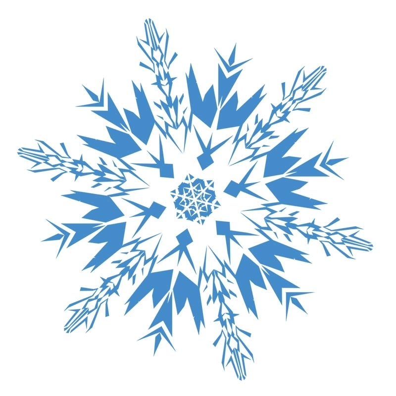 Free Christmas Snowflake Clipart Snowflakes For 2.