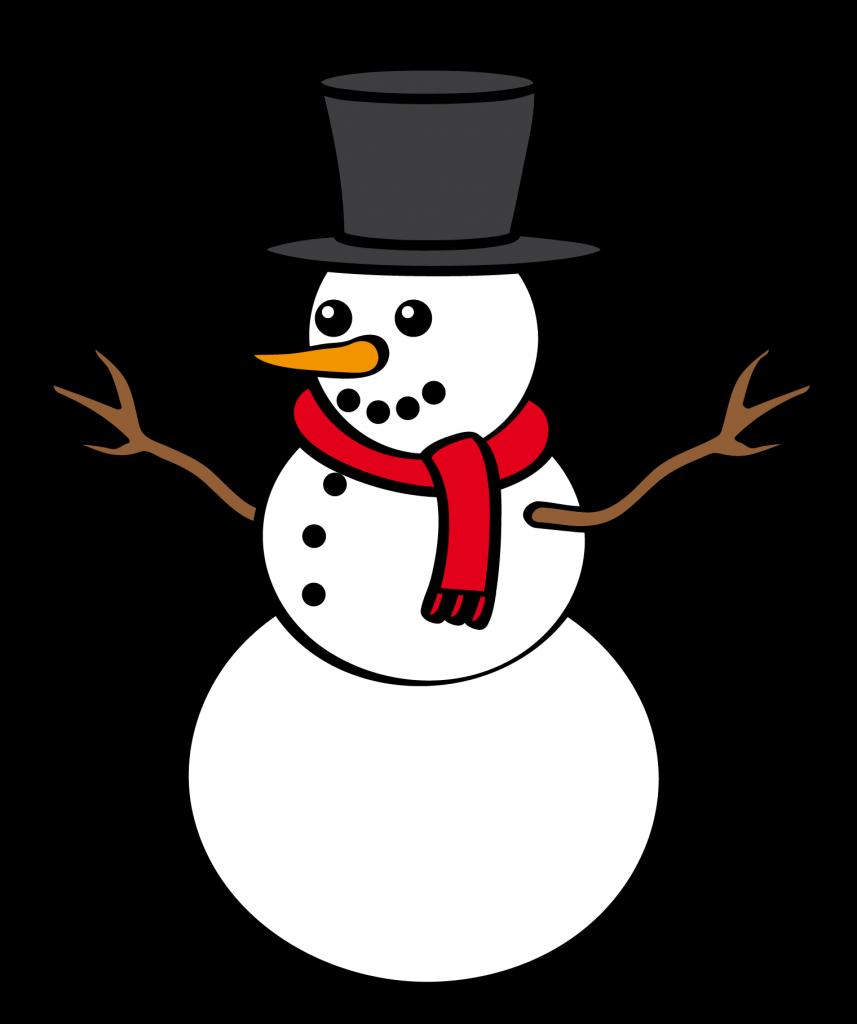 Snowman clipart no background 2 » Clipart Station.