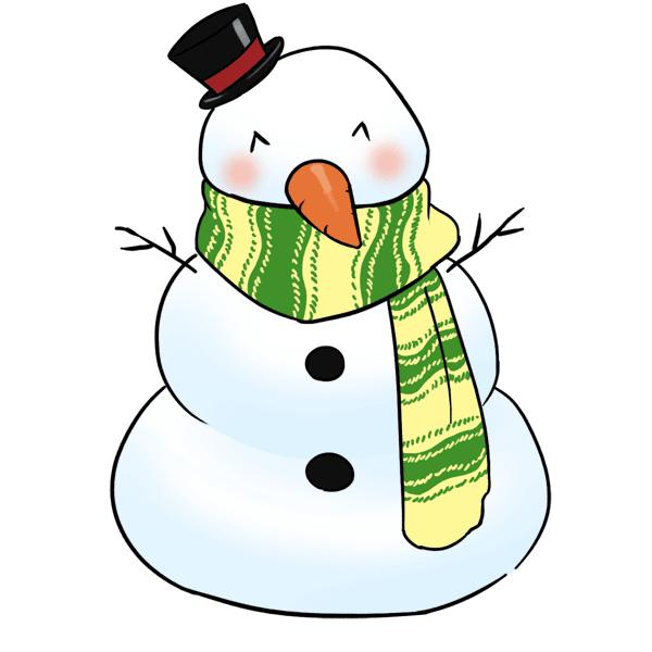 Clipart snowman clipartsiip 2.
