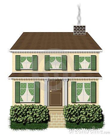 2 story house clipart » Clipart Portal.