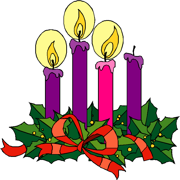 2474 Advent free clipart.