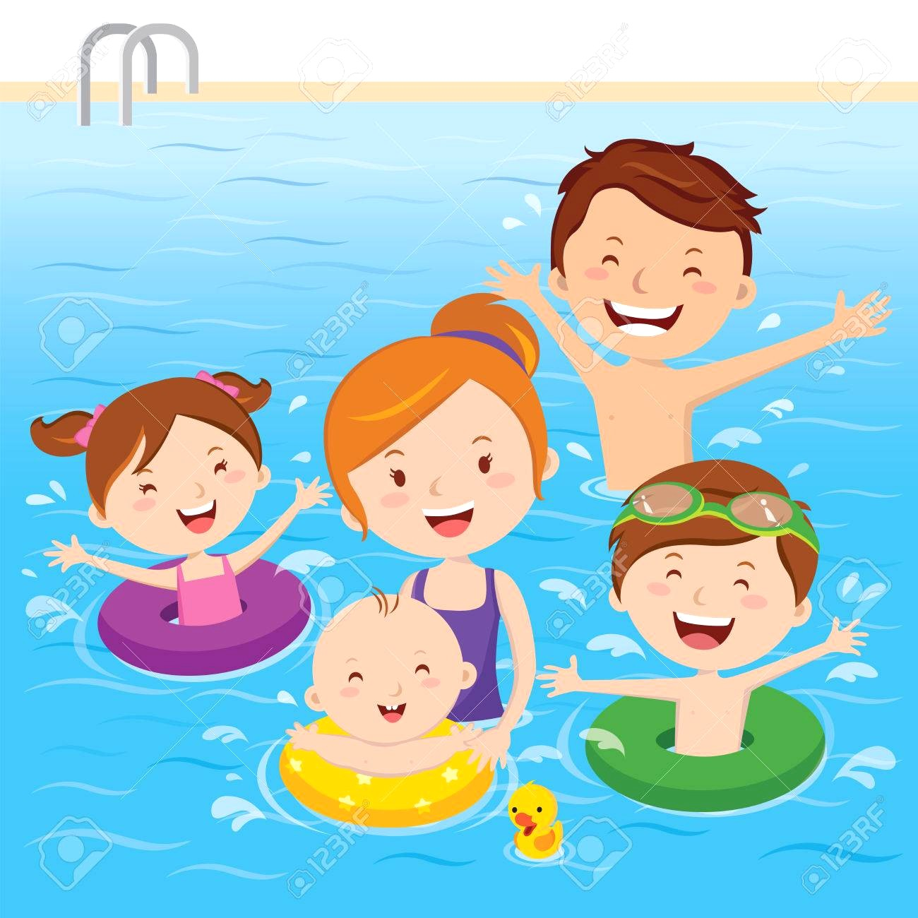 People swimming clipart 2 » Clipart Station.