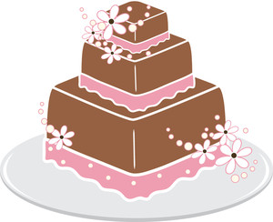 Free wedding cake clip art image clip art image of a 3 tier.