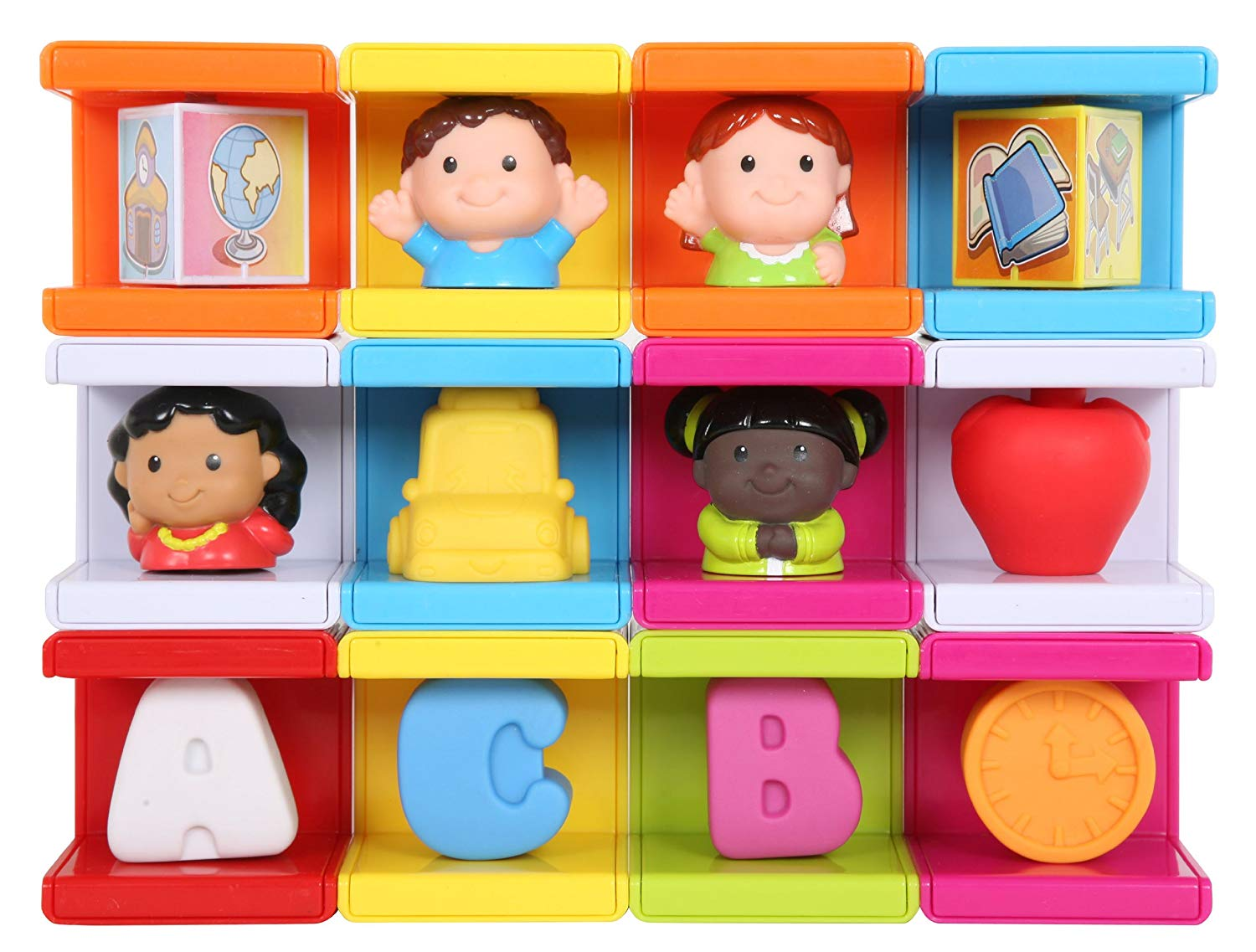 Safety First Cubikals Stack \'n Play 12 Block Set.