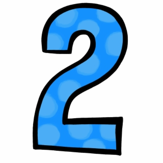 Number 2 PNG Images.