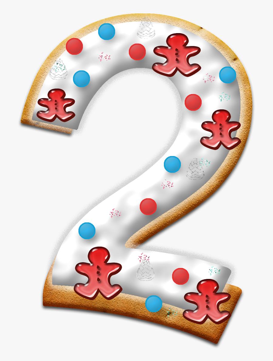 Christmas Number 2 Transparent , Free Transparent Clipart.