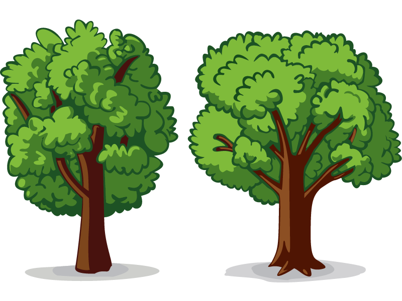 2 Trees by cliff on Dribbble.