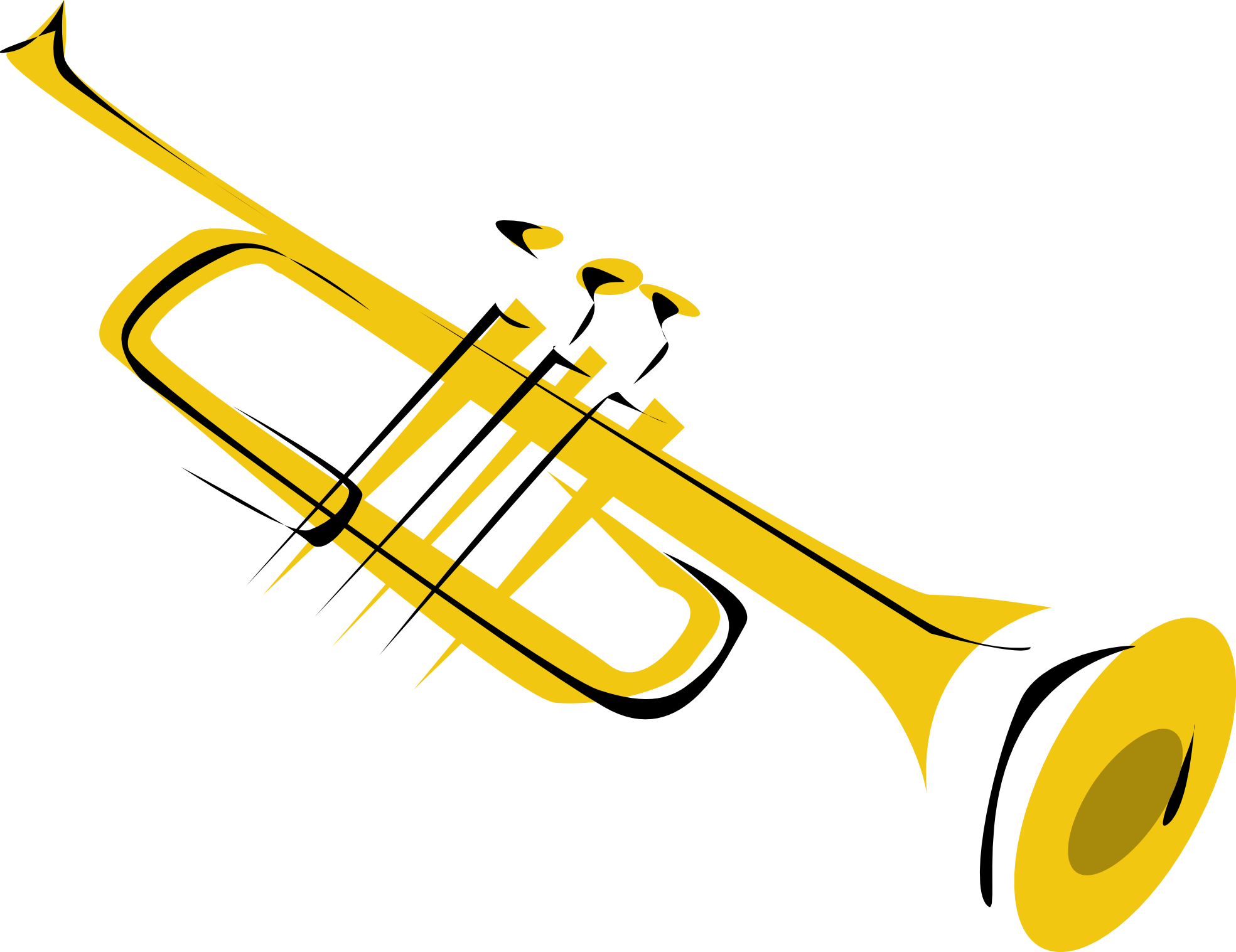 Free Trumpet Cliparts, Download Free Clip Art, Free Clip Art.