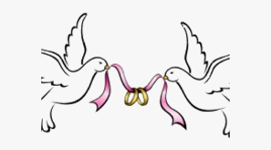 Turtle Dove Clipart Wedding Band.