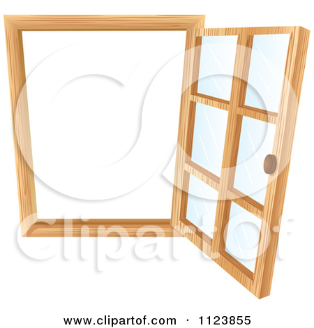 Cartoon Of An Open Window 2.