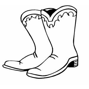 Cowboy boot cartoonwboy boots clip art indianstumeswboy.