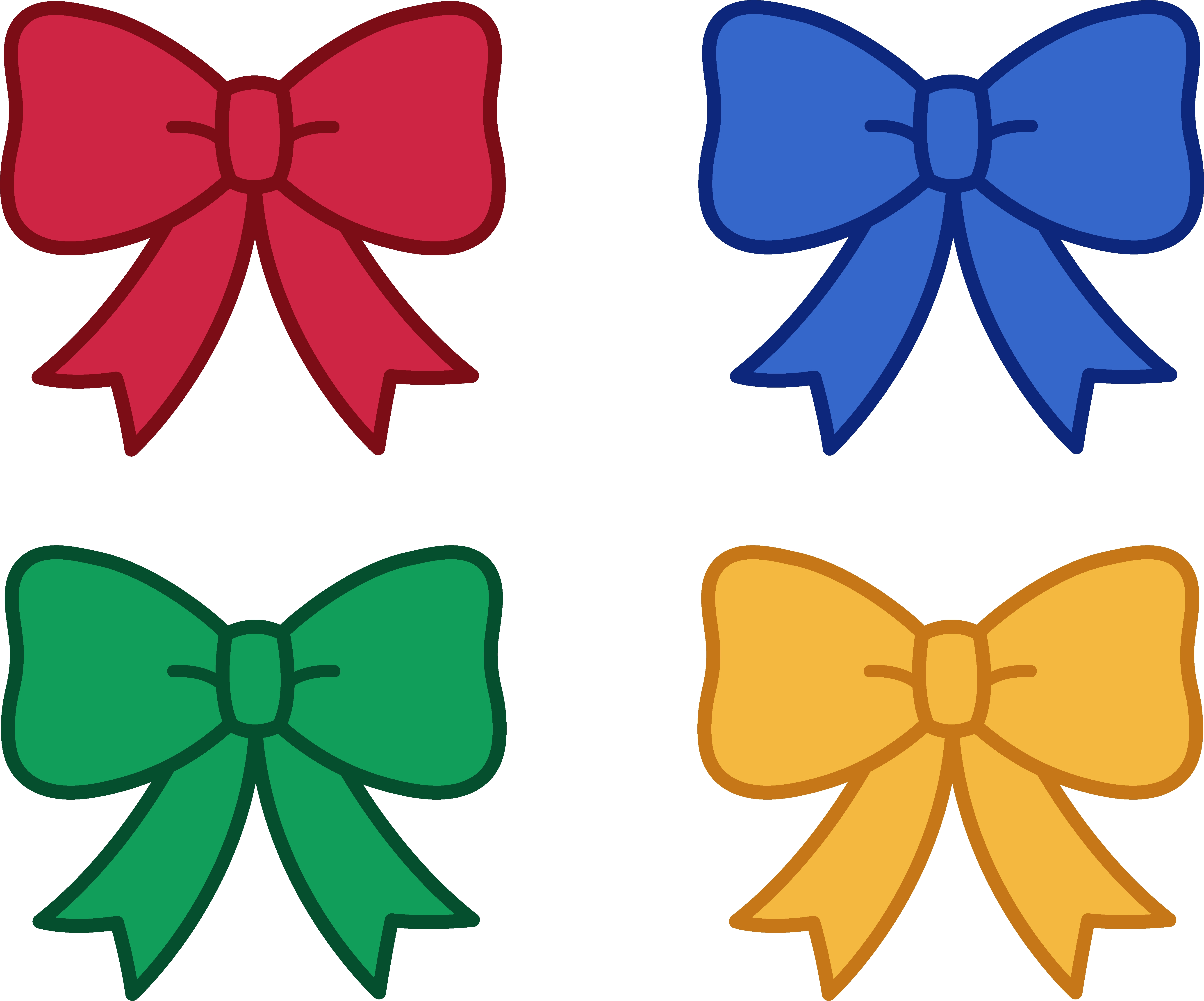 Bow clipart cute, Bow cute Transparent FREE for download on.