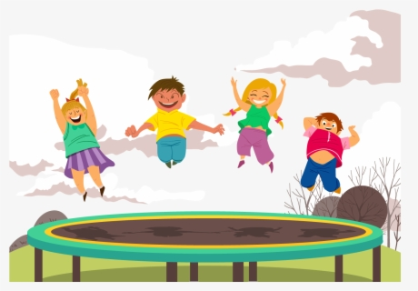 Free Trampoline Clip Art with No Background.