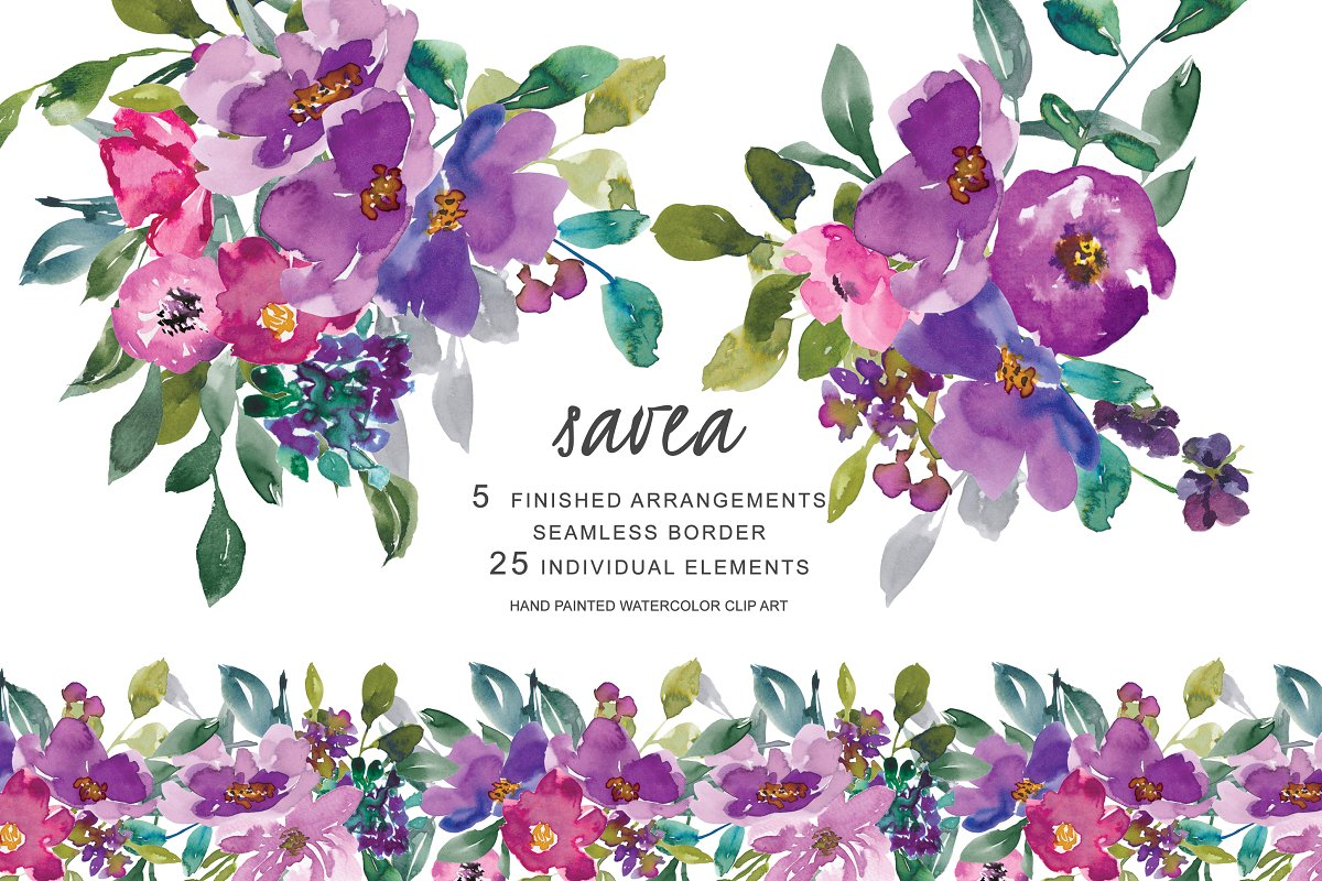 2 x6 floral border clipart clipart images gallery for free.
