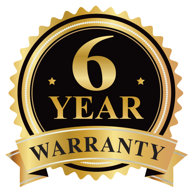 2 Year Extended Warranty (Total 6 Years).