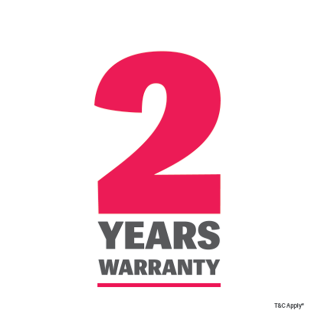2 Year Warranty on Mobile Phones.