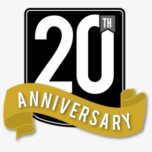 20th Anniversary Png , Transparent Cartoon, Free Cliparts.