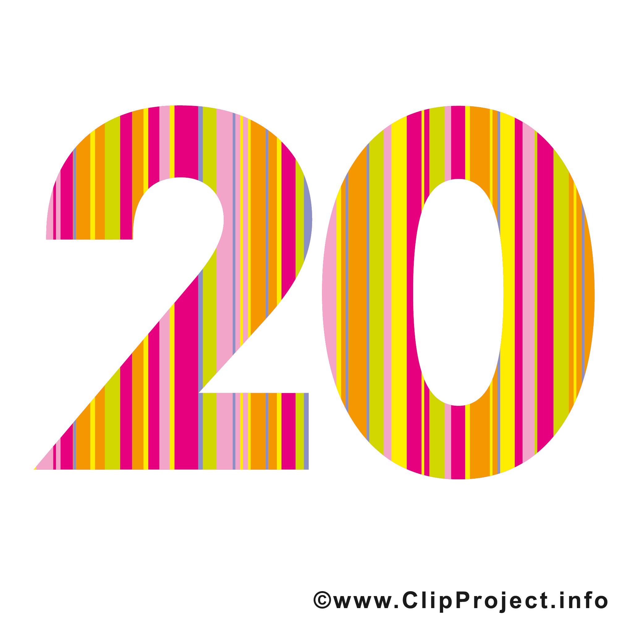 20 Clip Art.