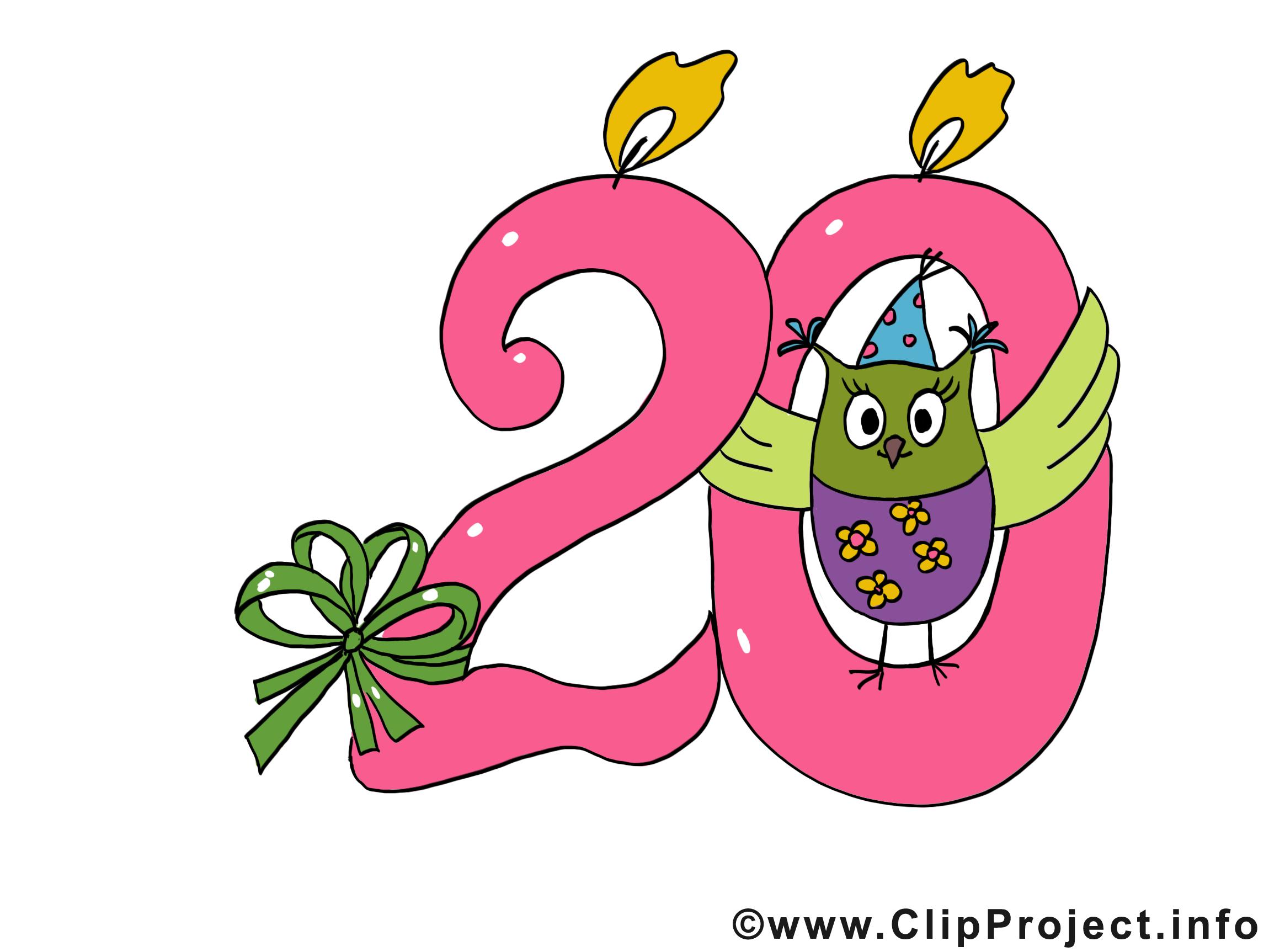 20 Clipart.