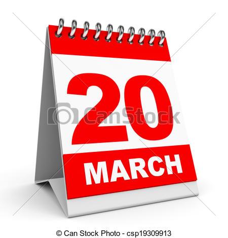 Calendar. 20 March..