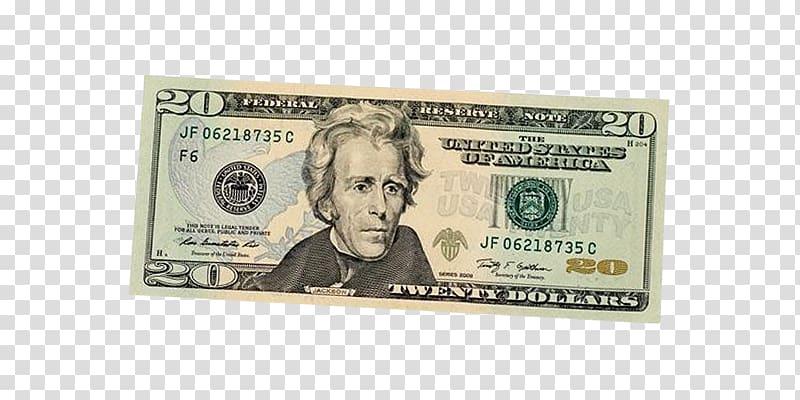 20 U.S dollar JF 06218735 C F6 banknote, United States twenty.