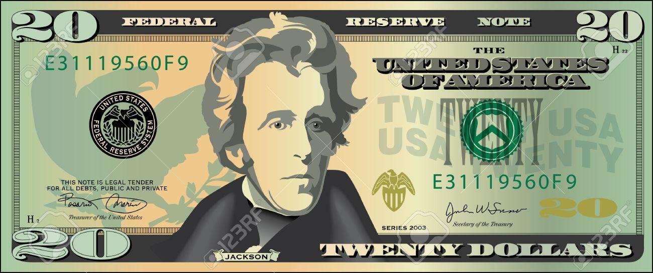 20 dollar bill.