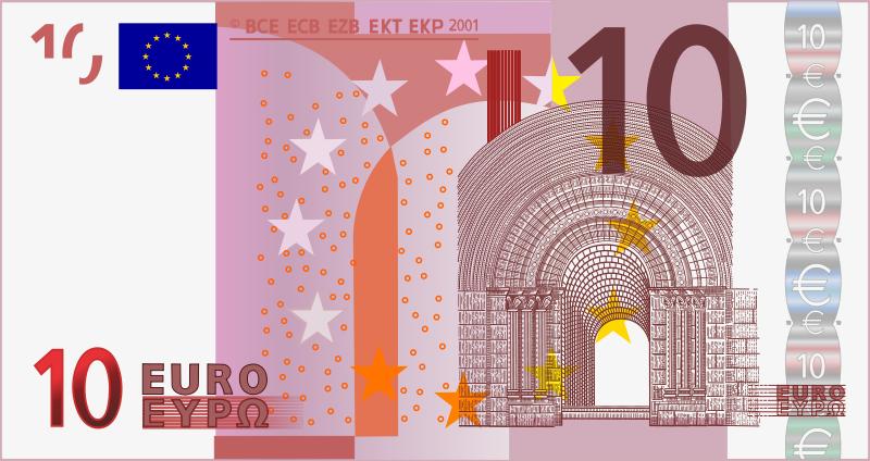 10 Euro Clipart.