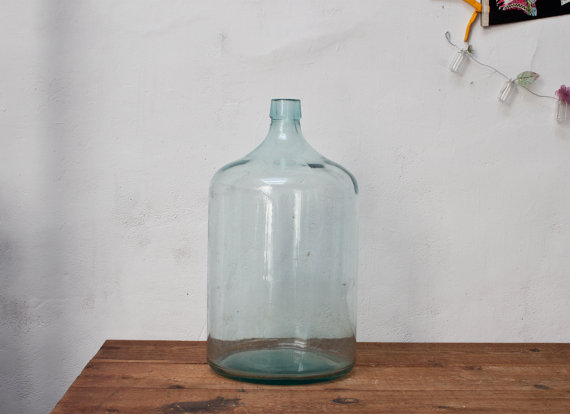 Industrial Glass Water Jug 20 Gallon.