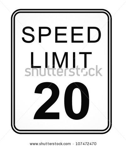 """Pavel Gorevsky's """"Speed Limit"""" set on Shutterstock."""
