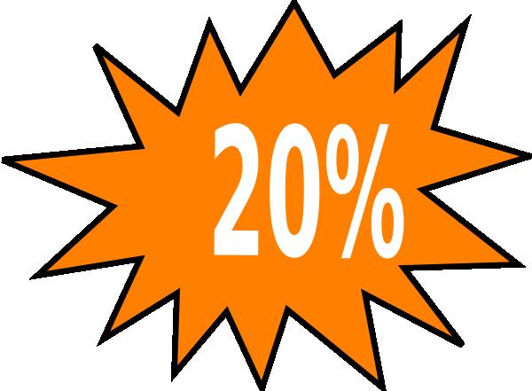 20% Off Clip Art at Clker.com.