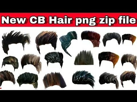 200+ Hair Png Zip File Download / Hair Styles Png for Photoshop.