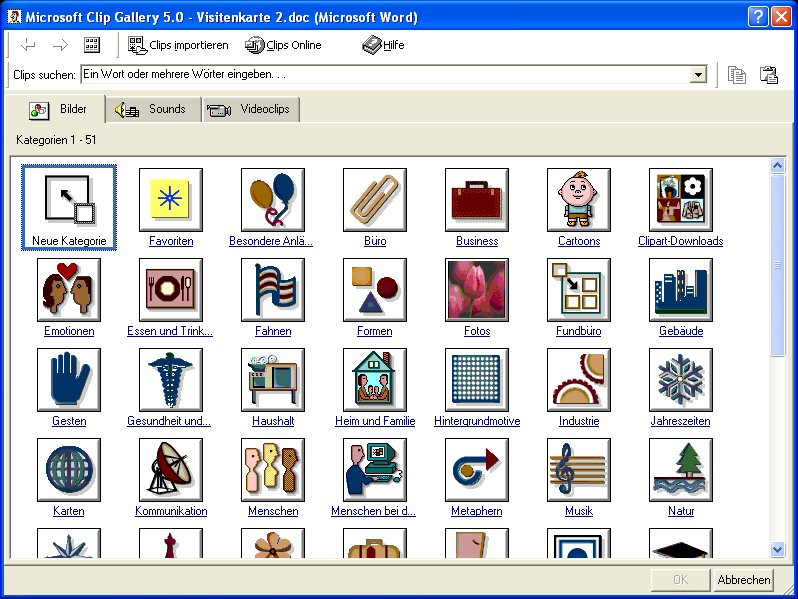 Clip art word 2000.