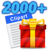 Clipart 2000+ on the Mac App Store.