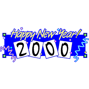 The Year 2000 Clipart.