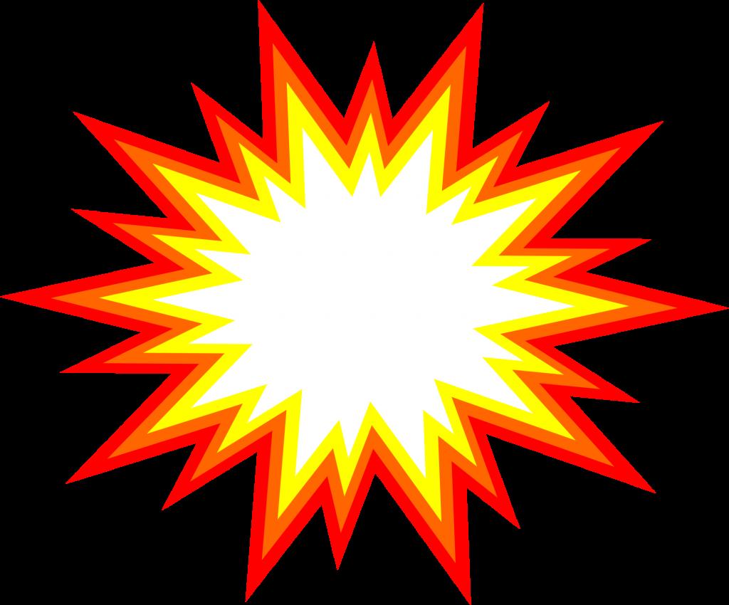 6 Starburst Explosion Comic Vector (PNG Transparent, SVG.