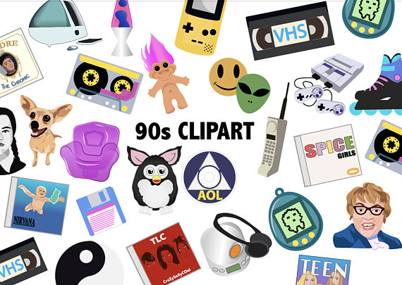 90\'S CLIPART.