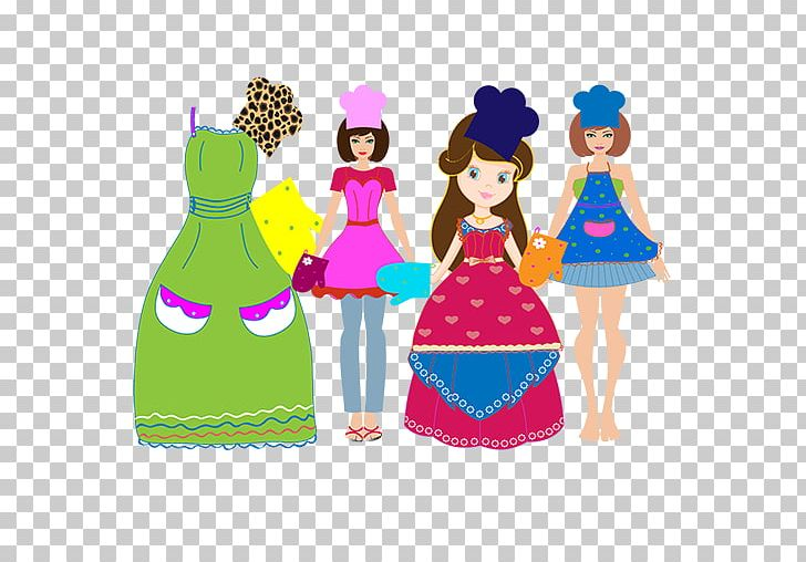 Doll Illustration Fashion Design Pattern PNG, Clipart, Doll.