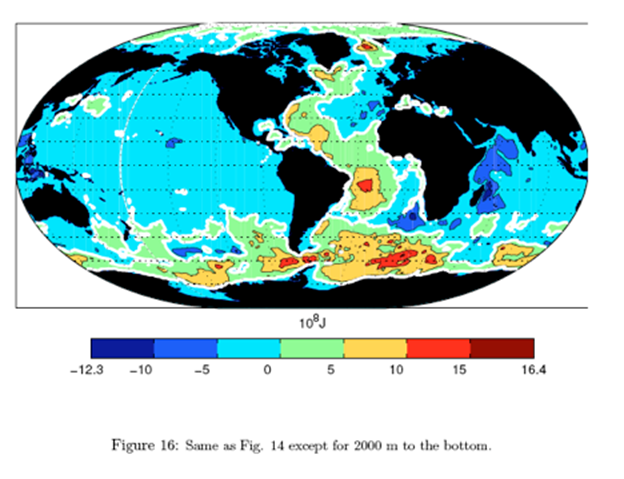 Deep Oceans Are Cooling Amidst A Sea of Modeling Uncertainty: New.