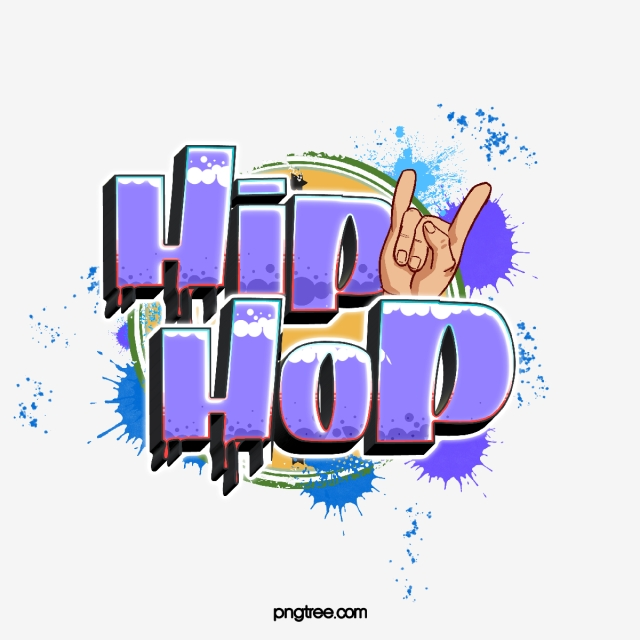 Trendy Cartoon Gradient Style Hiphop Creative Font Text.