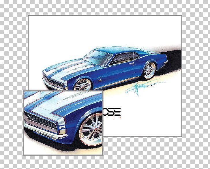Classic Car Ford Mustang Chevrolet Camaro Automotive Design.