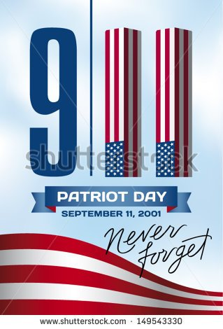 September 11 Memorial Clipart.