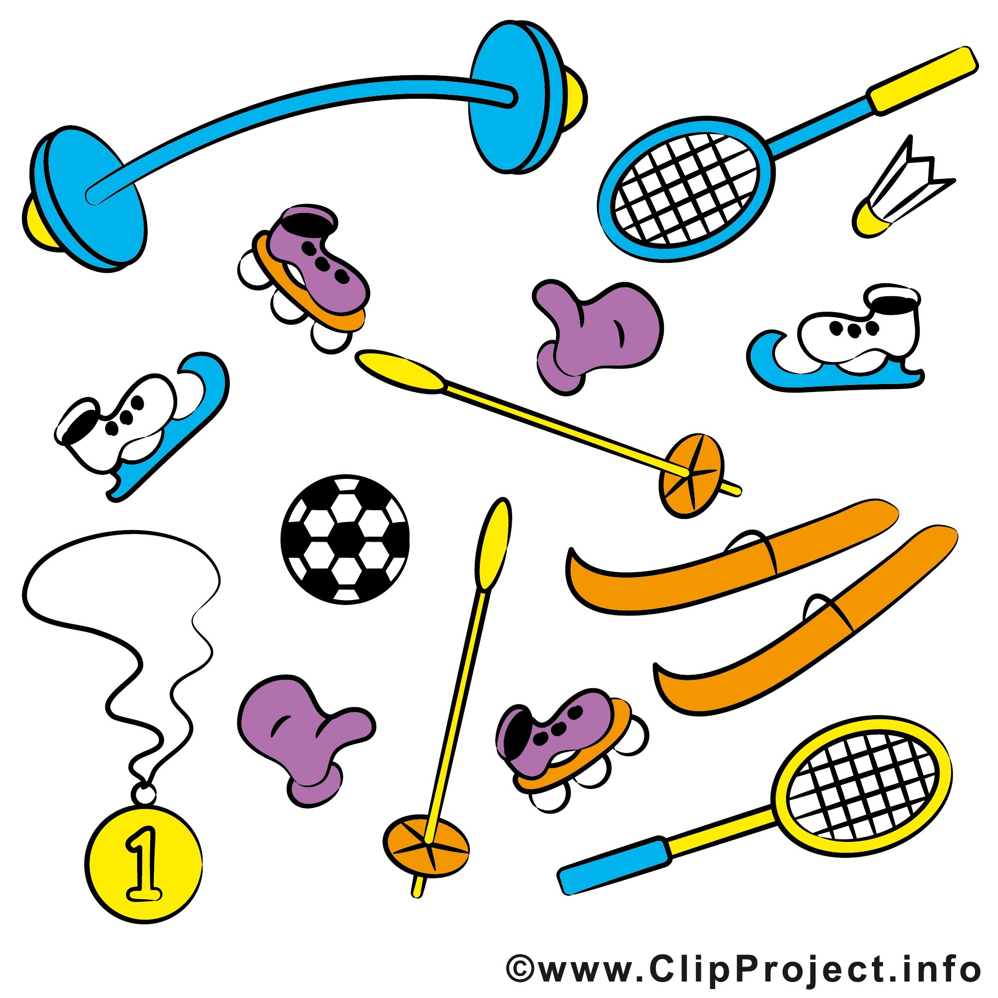 Free sport clip art to download for free.