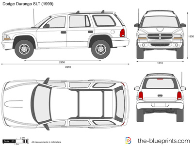 Cadillac Escalade ESV vector drawing.